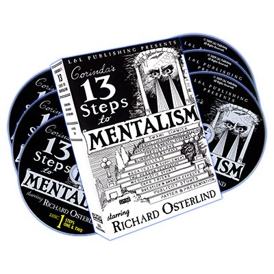 Thirteen (13) Steps to Mentalism - DVD Set