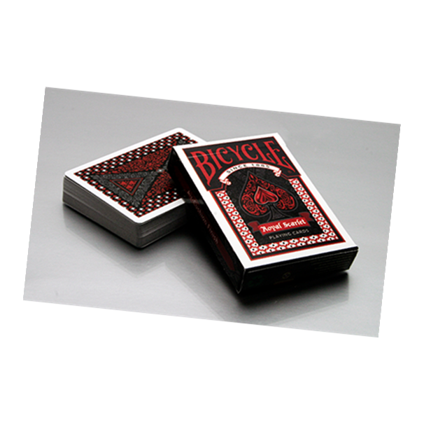 Bicycle Royal Scarlet Playing Card Deck