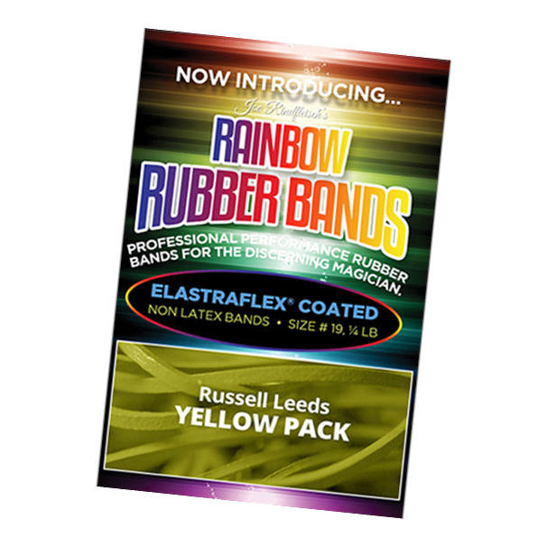 Joe Rindfleisch's Yellow Rubber Bands - Magic Tricks