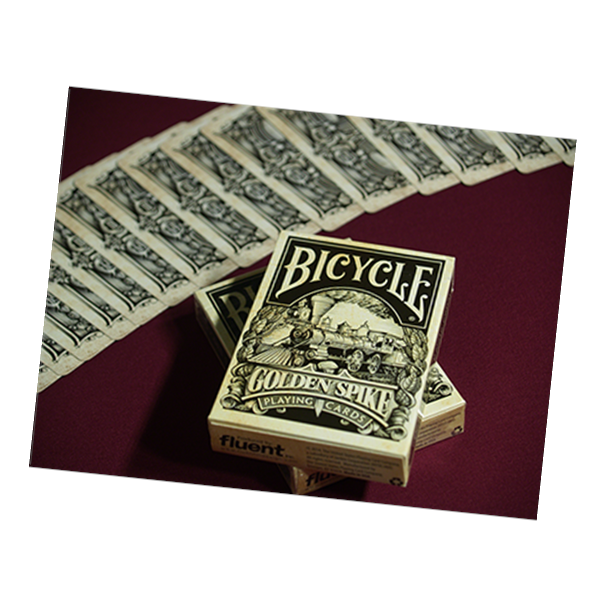 Bicycle Golden Spike Playing Card Deck by Jody Eklund