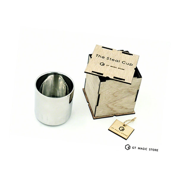 The Steal Cup by GD & GT - Lota Coffee Cup - Well Made Stainless Steel