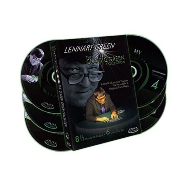 Lennart Green Classic Green Collection 6 DVD Set - Card Magic Moves & Tricks