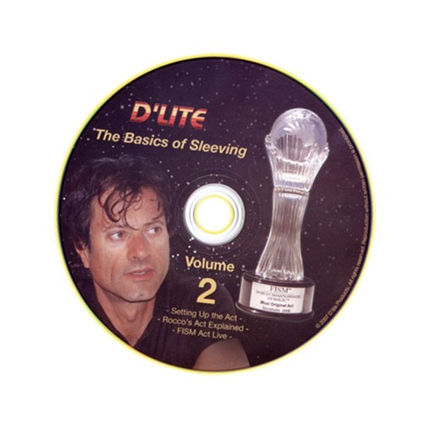 Sleeving # 2 Instructional Magic Trick DVD by Rocco