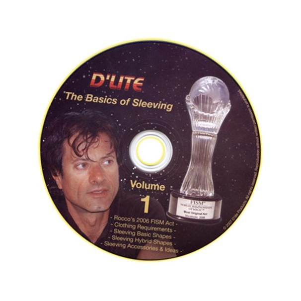 Sleeving # 1 Instructional Magic Trick DVD by Rocco
