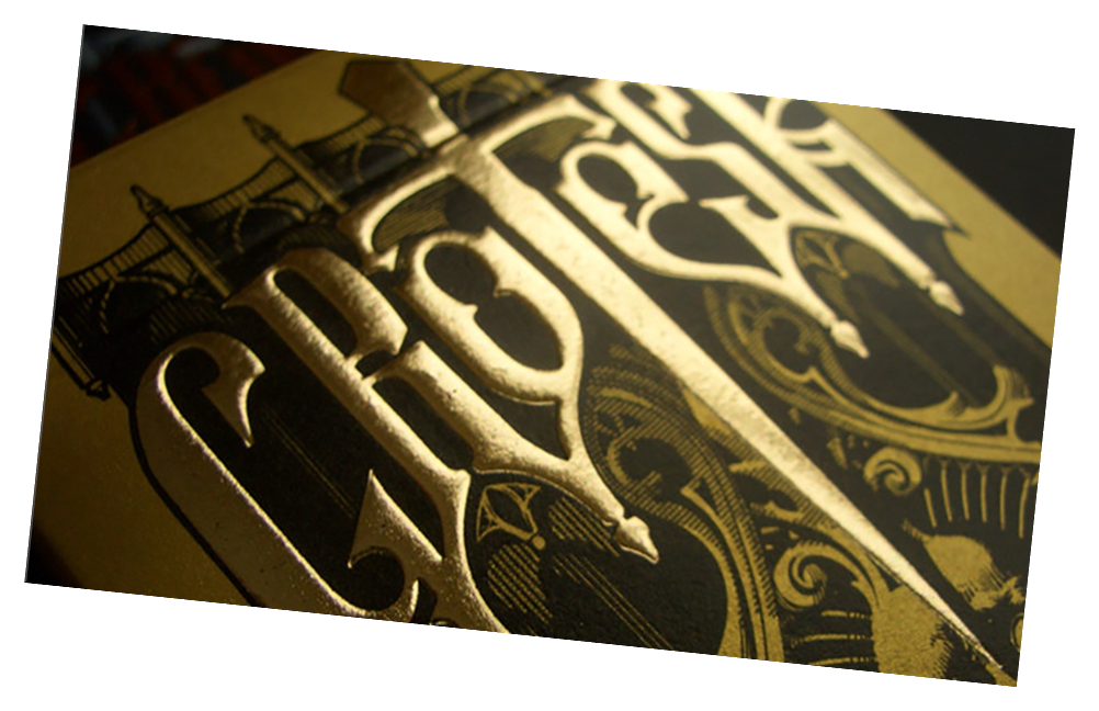 Grotesk Macabre Playing Card Deck Limited (Gold) by Lotrek