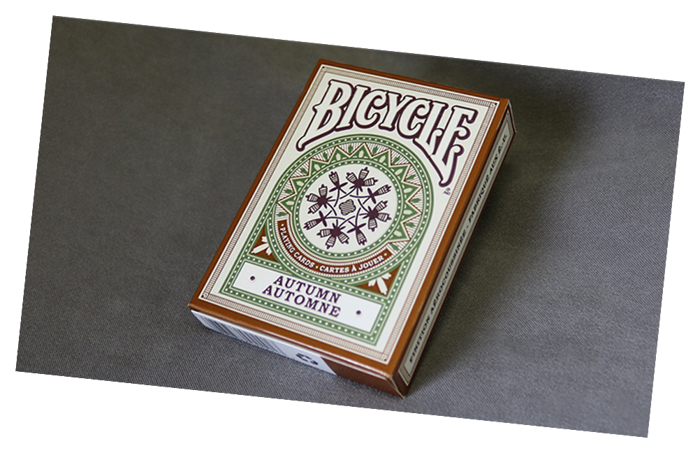Bicycle Autumn Playing Card Deck by US Playing Card Co