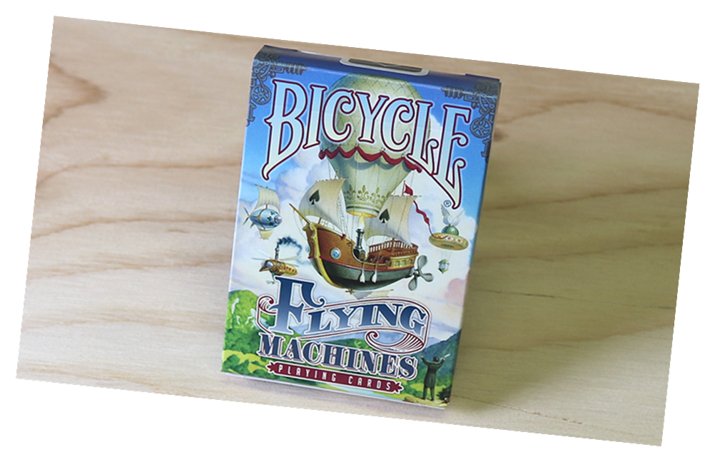 Bicycle Flying Machines Playing Card Deck by US Playing Card C
