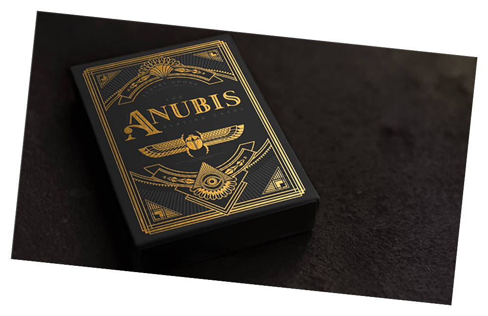 Anubis Playing Card Deck - Expert Playing Card Company