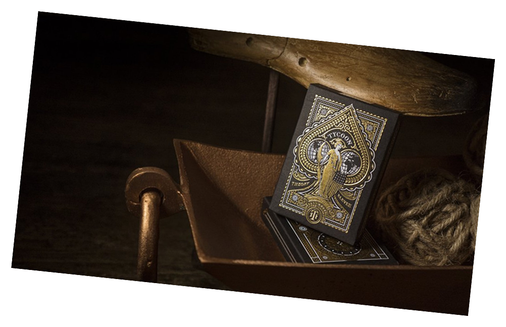 Tycoon Black Playing Card Deck by Theory 11 - Collectible Cardistry Cards