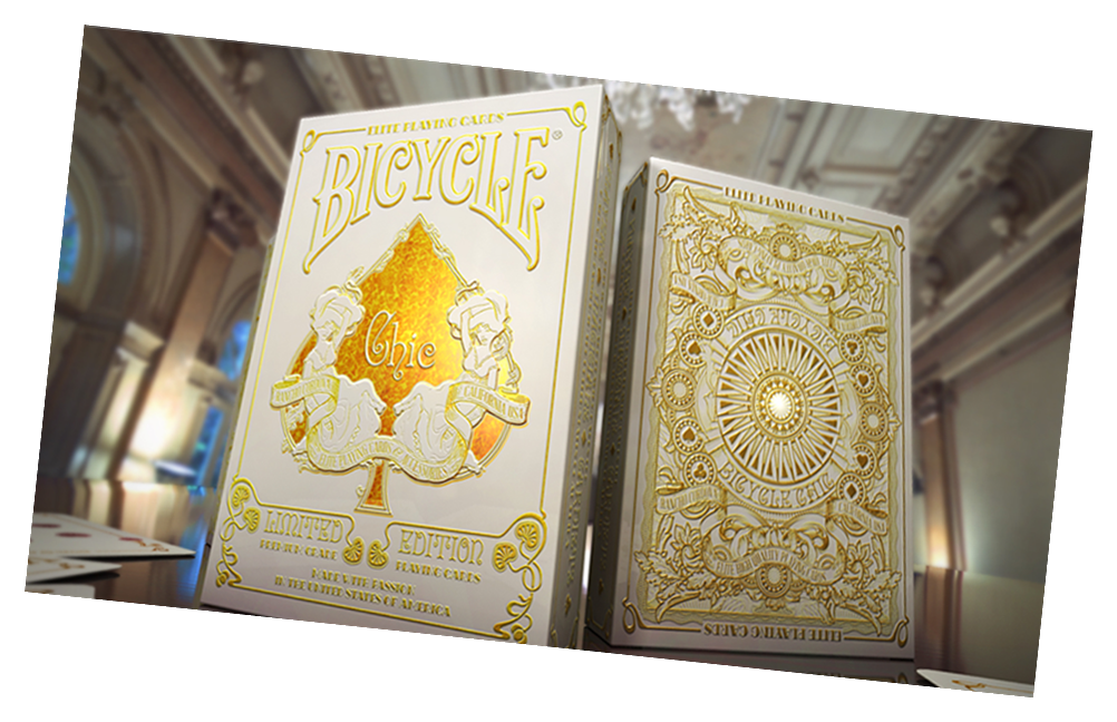 Chic Bicycle Playing Card Deck