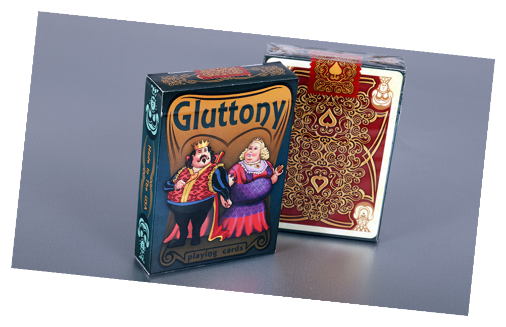 Gluttony Playing Card Deck by Collectable Playing Cards