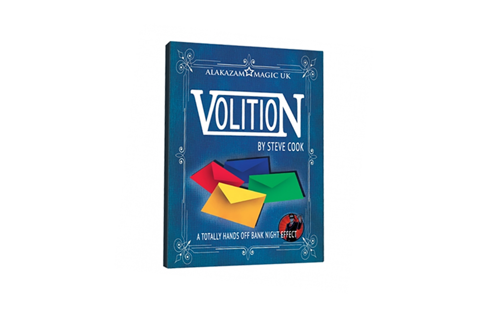 Volition (DVD and Gimmicks) by Steve Cook - DVD