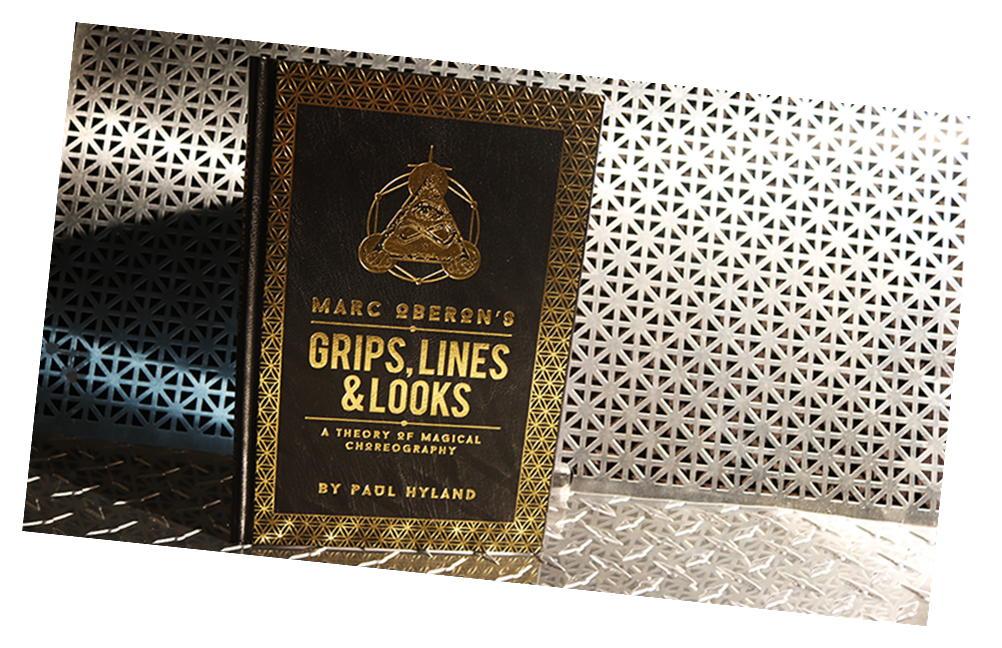 Grips Lines and Looks (DVD & Book) by Marc Oberon - Book