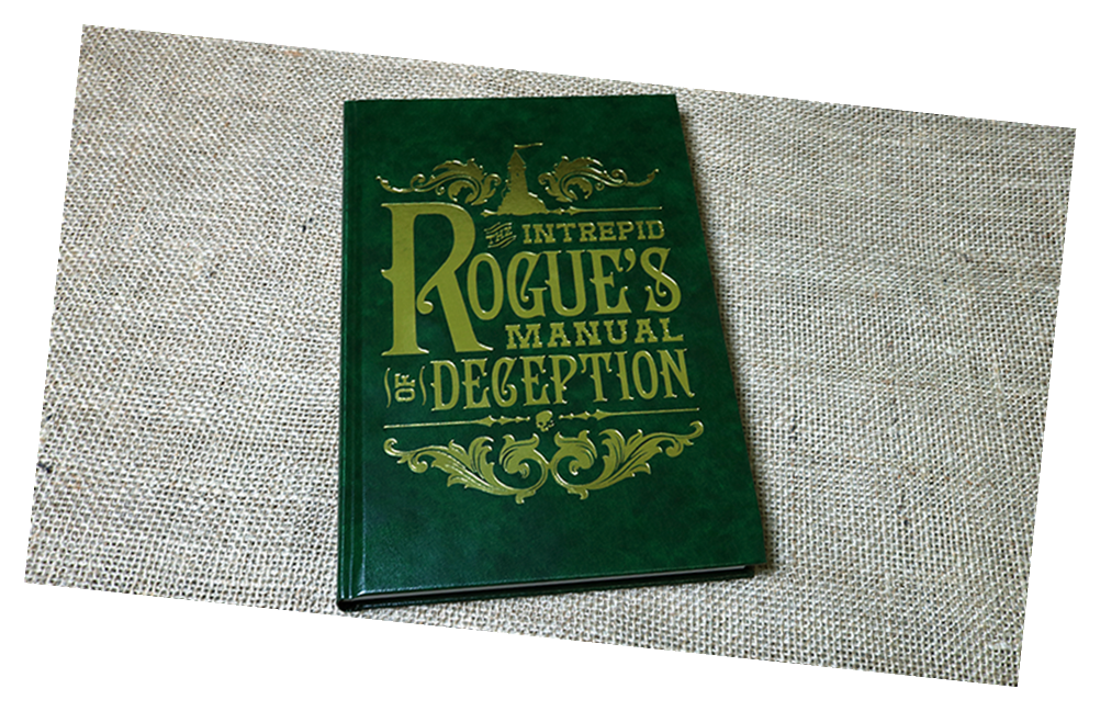 The Intrepid Rogue's Manual Of Deception by Atlas Brookings - Magic Book