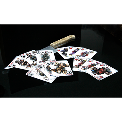 Bicycle Killer Clowns Playing Card Deck by Collectable Playing Cards