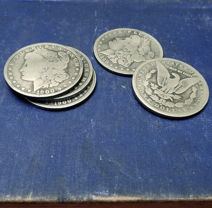 Morgan Dollar Re Edged Expanded Shell Set  - 1900
