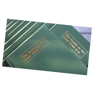 Expert At The Card Table Journal (Green) by Magic Encarta - Book