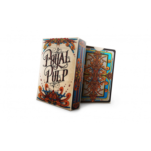 Royal Pulp Playing Card Deck (Red) by Gamblers Warehouse