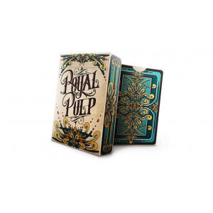 Royal Pulp Playing Card Deck (Green) by Gamblers Warehouse