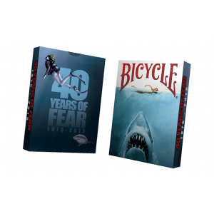 Bicycle 40 Years of Fear Jaws Playing Card Deck by Crooked Kings