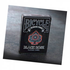Bicycle Black Rose Playing Cards by Collectable Playing Cards