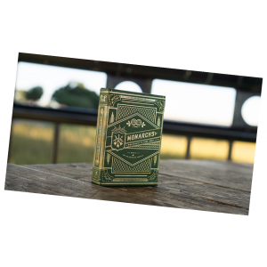 Monarch Playing Cards (Green) by Theory 11 - Premium Deck