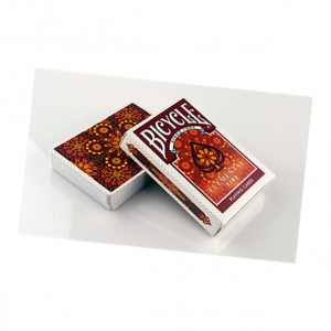 Bicycle Elemental Fire Playing card Deck by Collectable Playing Cards