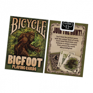 Bicycle Bigfoot Playing Card Deck by US Playing Card Co