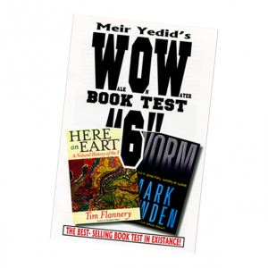 Meir Yedid's Wow Book Test 6 - Mind Reading Psychic Magic Trick