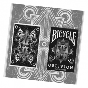Bicycle Oblivion Deck (White) by Collectable Playing Card Deck