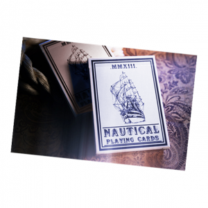 Nautical Playing Cards (Blue) by House of Playing Card Deck