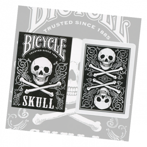 Bicycle Skull Playing Card Deck by USPCC