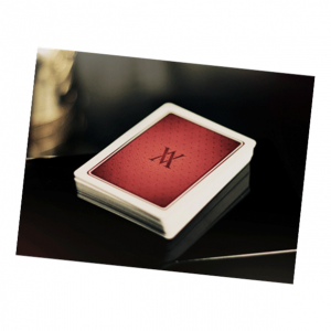 Red Verve Deluxe Playing Card Deck