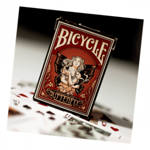 Butterfly Bicycle Playing Card Deck by US Playing Card