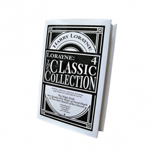 Lorayne: The Classic Collection Vol. 4 by Harry Lorayne - Card Magic Trick Book