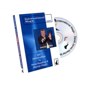 An Introduction to Mind Reading and Mental Magic - David Jones by International Magic - DVD