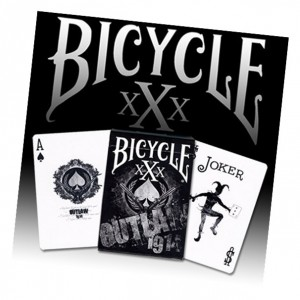 Outlaw Bicycle Deck by US Playing Card Co