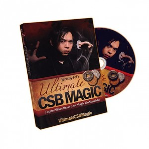 Ultimate CSB Magic by Jeremy Pei - Copper silver Brass Coin Magic DVD