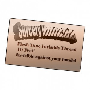 Flesh Tone Invisible Thread by Sorcery for Magic Tricks