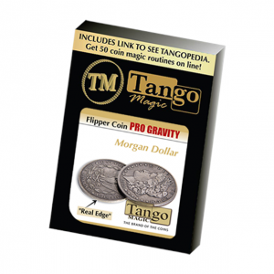 Morgan Flipper Pro Gravity by Tango - Precision Magic Coin Trick