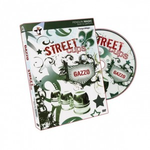 Gazzo Street Cups DVD and Book Set - Penguin Magic