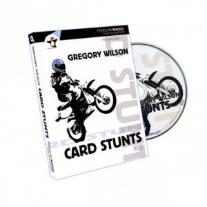 Card Stunts by Gregory Wilson - Amazing Card Magic Trick DVD