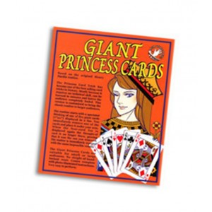 Giant Princess Cards Meir Yedid - Astounding Mind Reading Card Trick
