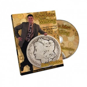Coin Man Walking by Dan Watkins - Coin Magic Trick & Technique DVD