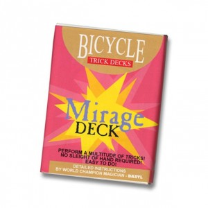 Mirage Deck Bicycle (Red) - Trick