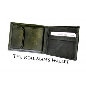 Real Man's Wallet for Card Magic Tricks