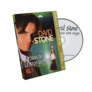 Basic Coin Magic - Vol.1 by David Stone - DVD
