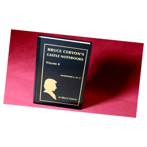 Bruce Cervon Castle Notebook - Vol. 4 Underground Card Magic Now Out of Print