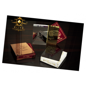 Elite Card Clip Classic Gold 24K  Plated - Card Magic & Cardistry