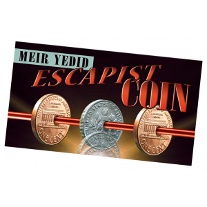 Escapist Coin by Meir Yedid - Penny Dime Coin Magic Trick with DVD